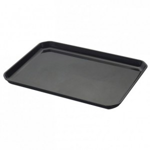 Tray ABS black 415 x 302 mm