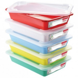 Sample meal containers 350 x 235 mm (5 pcs)