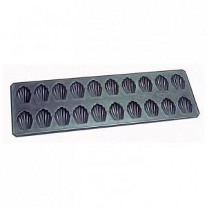Plaque de 12 madeleines L 70 mm en Exopan