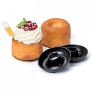 Open savarin mould Exoglass Ø 70 mm (12 pcs)