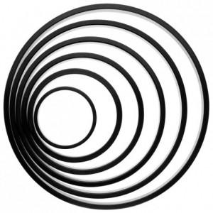 Cercle à tarte Ø 180 mm H 25 en Exoglass