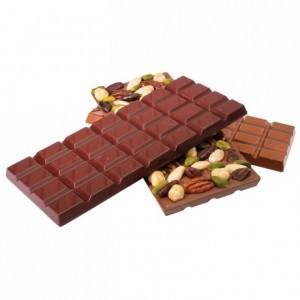 Moule tablette 200 g en polycarbonate pour chocolat