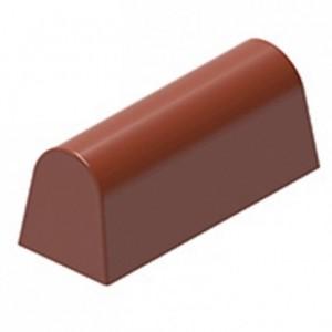 Moule 16 bonbons oblongs en polycarbonate pour chocolat