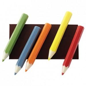 Moule 10 demi crayons en polycarbonate pour chocolat