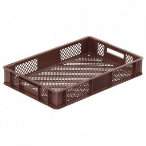 Bakery basket 17 L brown