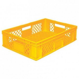 Bakery basket 80 L yellow