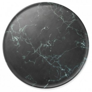 Round marble platter melamine Ø 325 mm