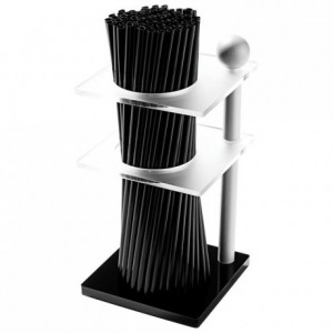 Straws holder black