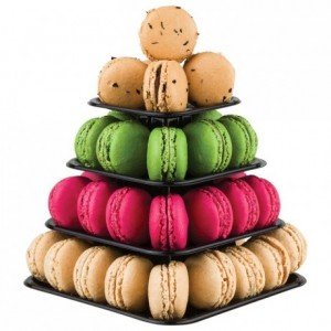 Box for macarons mini-pyramids (24 pcs)