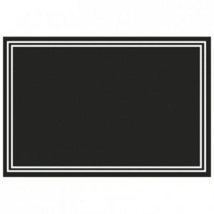 Ardoisine PVC noir (lot de 10)