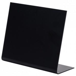 Chevalet PVC noir