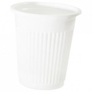 Gobelet boisson blanc 10 cL en PP (lot de 4000)
