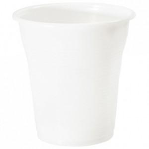 Gobelet boisson blanc 16 cL en PP (lot de 3000)