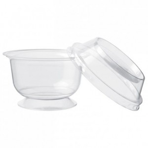 Dome lid for verrine dessert cup Ø 100 mm (1000 pcs)