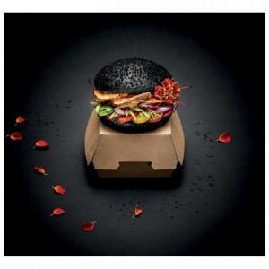 Boite hamburger en carton brun petit modèle (lot de 250)