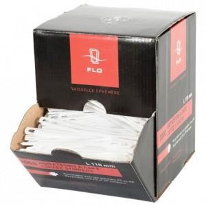 Agitateur en PS blanc (6 boites de 2000)