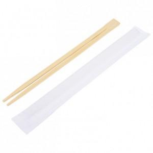 Baguettes enveloppées en bambou (lot de 100)