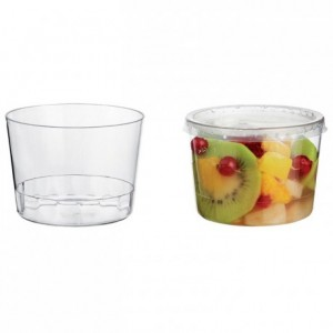 Lid for cup Bodega 25 cL (600 pcs)