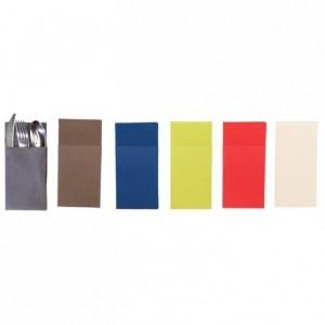 Kangourou napkins red 40 x 40 cm (50 pcs)