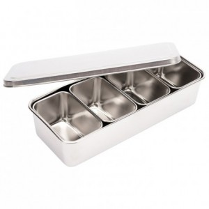 Five piece set stainless steel