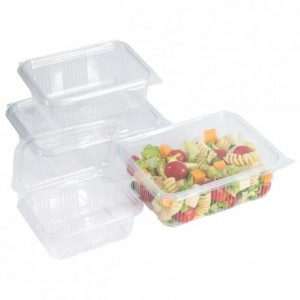 Barquette à salade en PET 2000 mL (lot de 200)