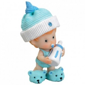 Blue hat baby (4 pcs)