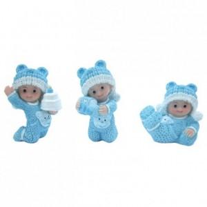 Bébé pyjama bleu (lot de 12)