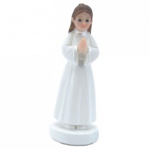 Communiante en prière debout (lot de 4)