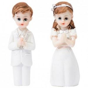 Communiante en prière (lot de 4)