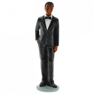 Black groom (2 pcs)