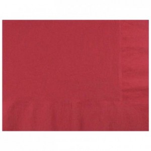 Serviette Airlaid bordeaux 40 x 40 cm (lot de 600)