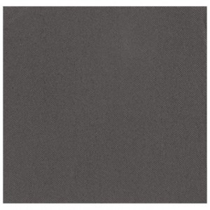 Serviette Airlaid anthracite 40 x 40 cm (lot de 600)