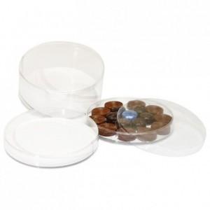Round box PVC Ø 140 x 65 mm (5 pcs)