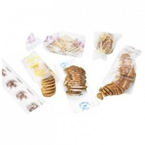 Sliced bread bag blue 450 x 160 mm (200 pcs)