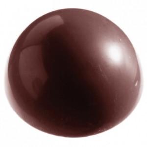 Moule 24 demi sphères en polycarbonate pour chocolat