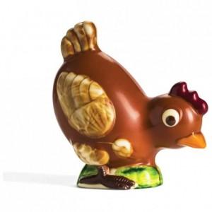 Moule 1 poulette en polycarbonate pour chocolat