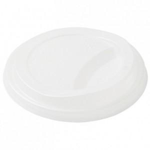 Couvercle compostable pour gobelets Sweet Ø 90 mm (lot de 900)