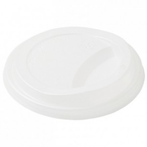 Lid for cup compostable Sweet Ø 90 mm (900 pcs)