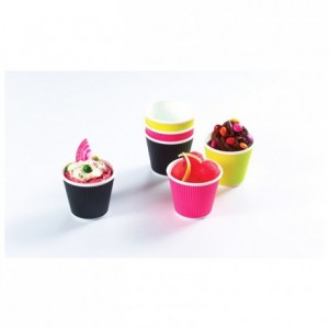 Verrine Pop Cup fuchsia 6 cL (lot de 300)