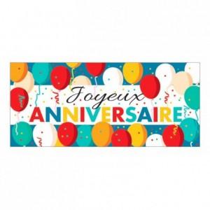 Edible Joyeux Anniversaire sheet (24 pcs)