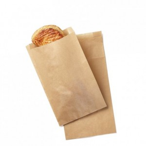 Sac à viennoiserie kraft n°5 (lot de 1000)