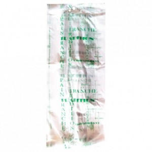 Bread bag Bioplast green 350 x 160 (200 pcs)