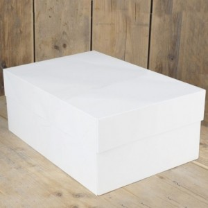 FunCakes Cake Box Blanco 40x30x15cm pk/1
