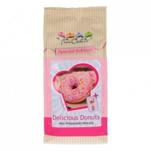 Préparation pour délicieux donuts FunCakes 500 g