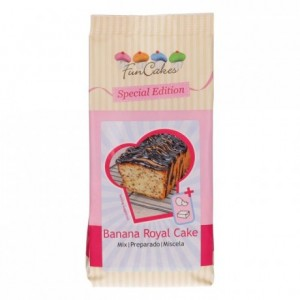 FunCakes Special Edition Mix for Banana Royal Cake 400g