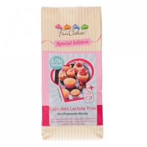 Préparation pour cupcakes FunCakes sans lactose peu sucrée 500 g