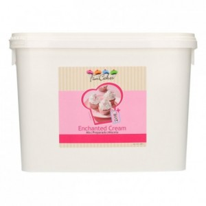 Préparation pour crème enchantée FunCakes 4,5 kg