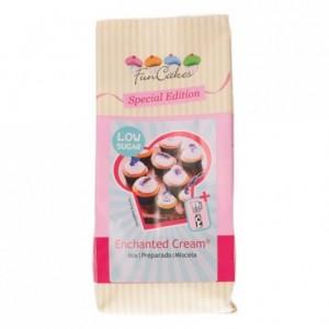 Préparation pour crème enchantée peu sucrée FunCakes 400 g