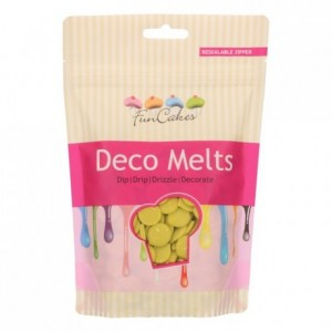FunCakes Deco Melts Lime Green 250g