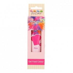 Colorant alimentaire en gel FunCakes Pink 30 g